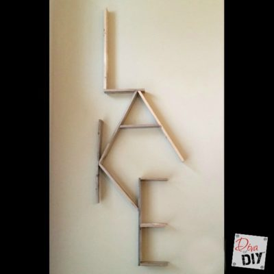 Pallet Words: How to Easily Personalize Your Decor