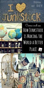 Junkstock is combination of a vintage flea market and a county fair. Let me give you a small taste of what it's all about while you get great DIY ideas!