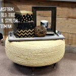 Transform an Old Tire into a Stylish Ottoman