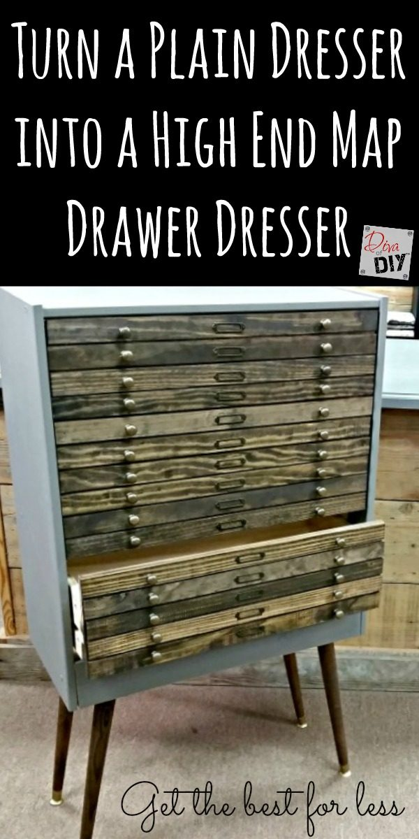 This custom IKEA Hack dresser only looks expensive.  You can have the look of high-end furniture without the heavy price tag. Dresser makeover diy is for you