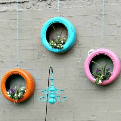 How to Make Easy and Unique DIY Tire Planters