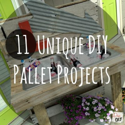 Pallet Projects: How to Make 11 Unique DIY Projects