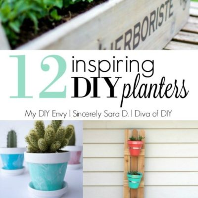 Talk DIY to Me #4 Featuring DIY Planters