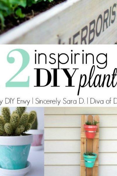 Talk DIY to Me #4 Featuring DIY Planters