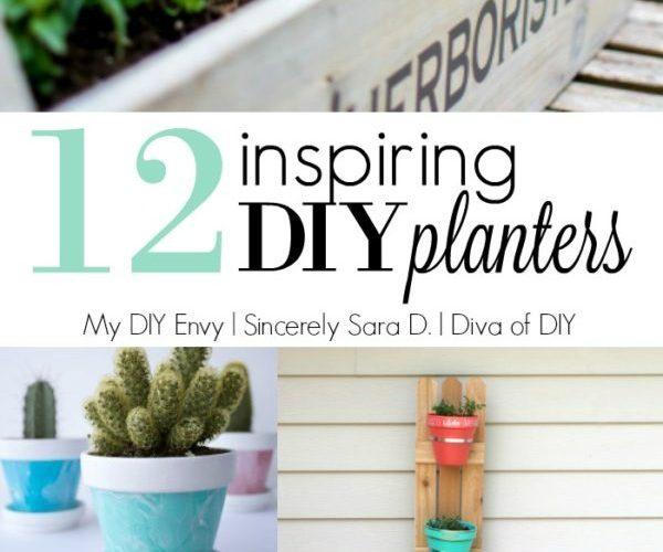 12 DIY Planters
