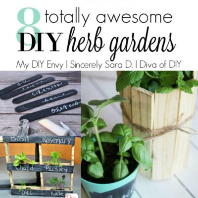 Talk DIY to Me #2 Featuring DIY Herb Garden Ideas
