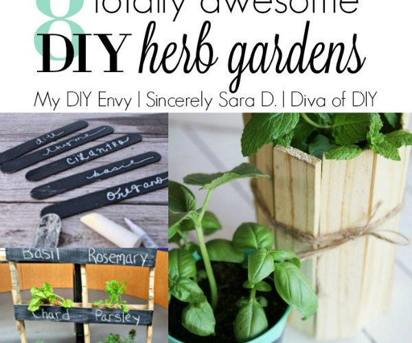 8 Totally Awesome DIY Herb Gardens