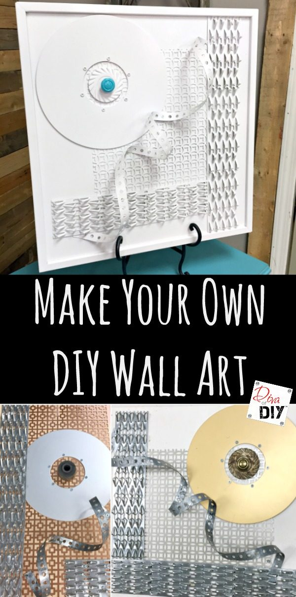 Don't feel like you have to spend lots of money for expensive artwork, make easy diy artwork with this DIY Wall Art tutorial. These are perfect from your living room to your bathroom!
