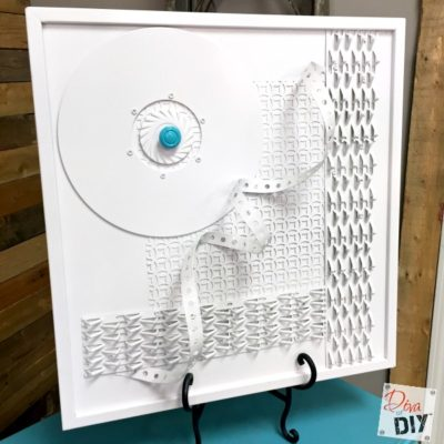 How To Make DIY Wall Art Using Recycled Materials