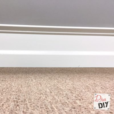 Home Improvement: Cheap and Easy Dramatic Baseboards