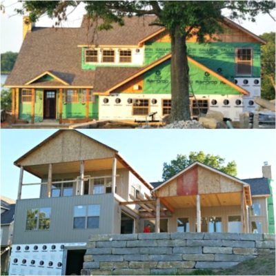 Lake House Fixer Upper:  The Curb Appeal