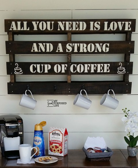 http://www.myrepurposedlife.com/repurposed-pallet-coffee-cup-rack/