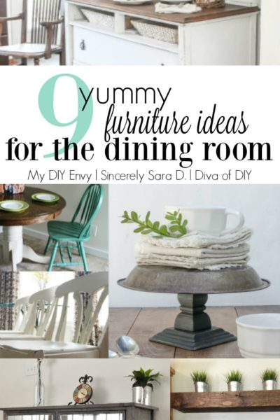 Talk DIY to Me #7 Featuring Dining Room Furniture Ideas