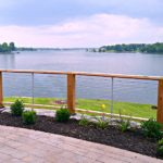 Get the unobtrusive view you are looking for with Feeney Cable Rail. The best DIY wire deck rail with a sleek modern industrial look for your Lake House!
