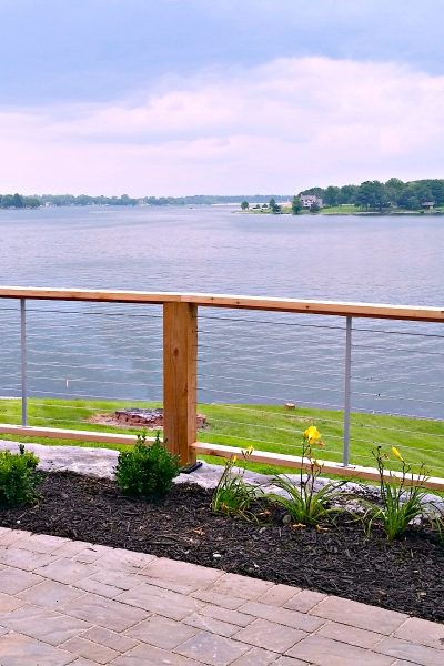 Lake House Fixer Upper:  Building A Deck With A View