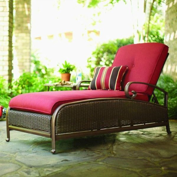 Making the perfect retreat starts with selecting the perfect low maintenance products! See the inspiration board for an amazing master bedroom deck retreat! master bedroom chaise lounge