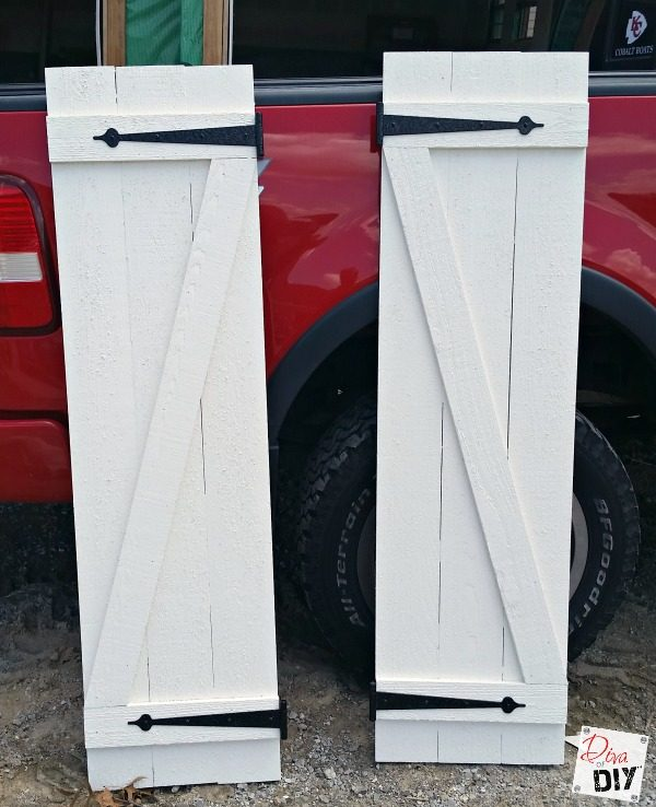 How To Build Board and Batten Shutters For Your Home | Diva of DIY