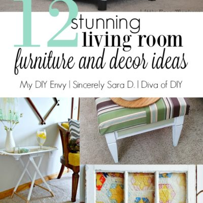 Talk DIY to Me #8 Featuring Living Room Project Ideas