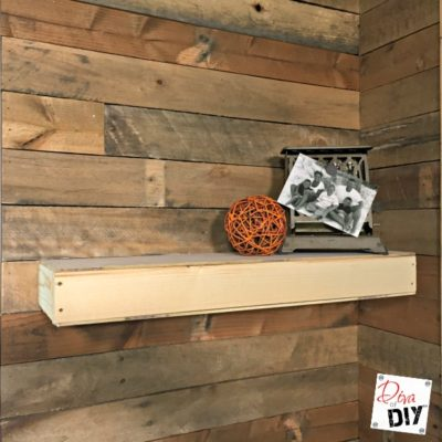 DIY Shelf: How to Make an Easy Floating Shelf