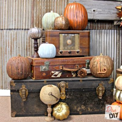Faux Pumpkins: How to take them from Fake to Fabulous