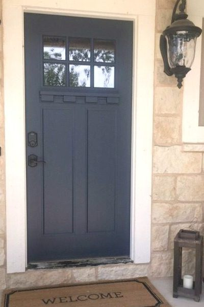 How To Paint Your Front Door With Ease