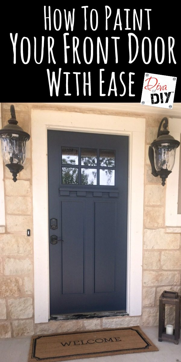 Painting your front door is one of the easiest ways to boost your curb appeal! Using the right products and picking the right door color is important!