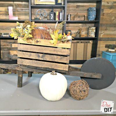 Planters: How to Make a Seasonal Wheelbarrow Planter