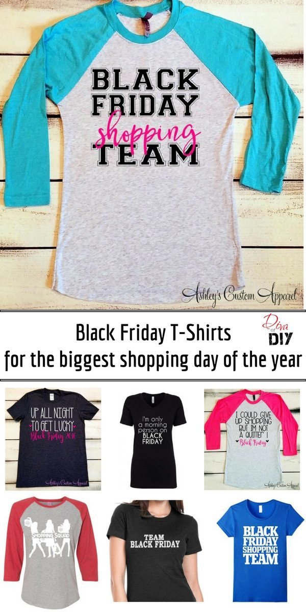 Black Friday is the start to Christmas gift shopping! Dress your Family and Friends in the same t-shirt so you can see each other! Perfect post Thanksgiving Fun!