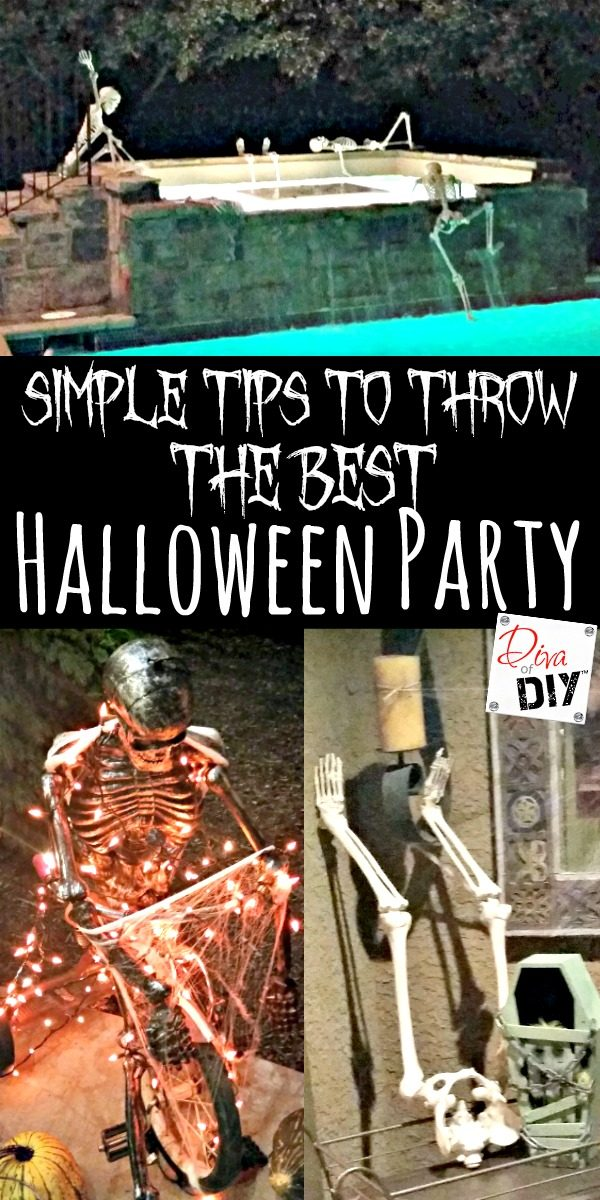 Do you enjoy a good Halloween Party? Halloween Party tips and ideas for throwing the perfect party for all ages! Adult Halloween Party ideas! Decorations!