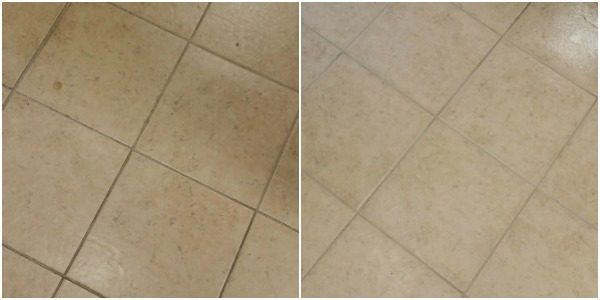 clean grout the easy way