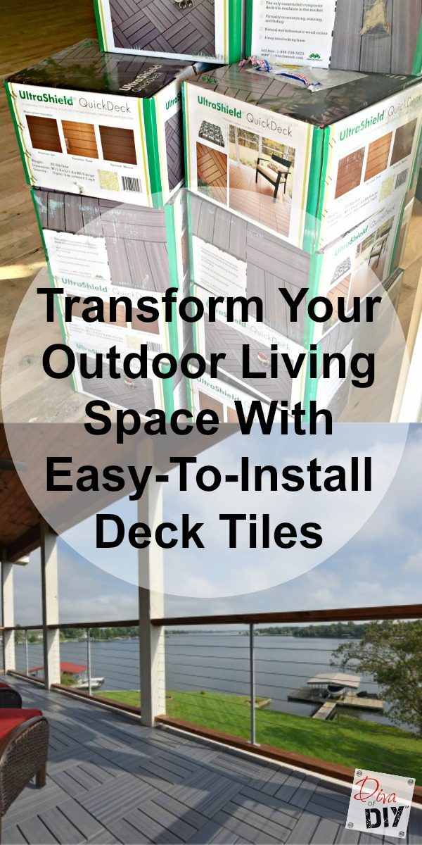 See how easy it is to transform your outdoor living space floor with UltraShield QuickDeck tiles from Builder Direct! Outdoor deck flooring for any surface!