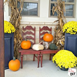 5 Simple Steps For Fall Porch Decorating