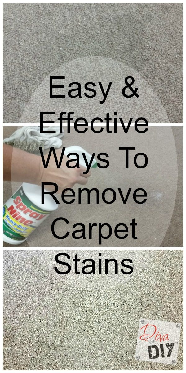 Cleaning tip! How to remove carpet stains the easy way! If it will work on my work shop carpet, it will work for you! I am so excited to find this product! #ad