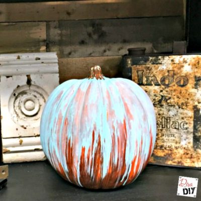 How to Create an Oxidized Patina Pumpkin