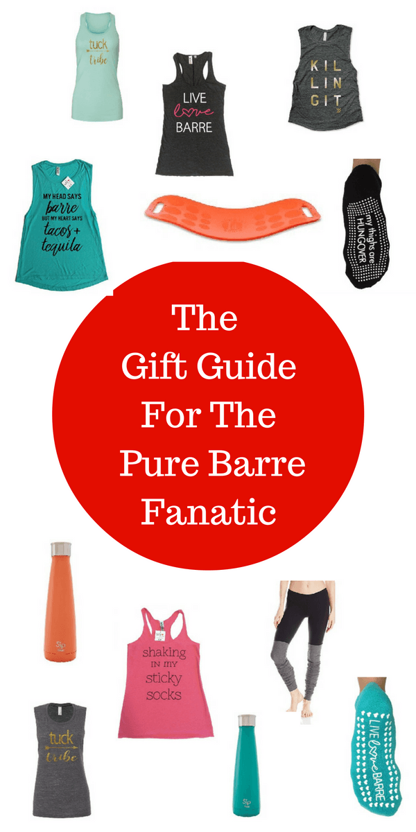 Looking for some exercise motivation? Check out these unique gifts for the Pure Barre fanatic! These fun gift ideas will keep you motivated to loose weight!