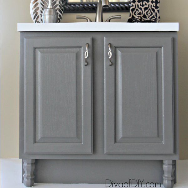 Bathroom Makeover Vanity 4 diy bathroom ideas that are quick and easy l diva of diy