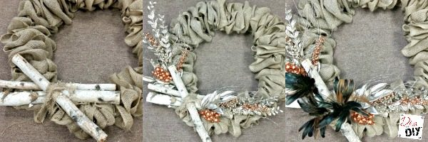 This easy burlap wreath tutorial is what you have been looking for! Make the perfect DIY burlap wreath every time! Great for both Fall and Christmas wreaths