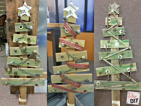Wood Pallet Christmas Tree.Make A Rustic Christmas Tree From Pallet Wood Diva Of Diy