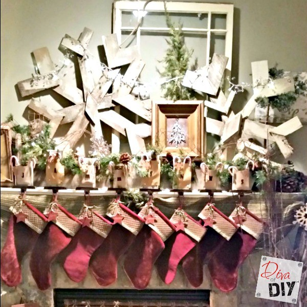 How To Make A Snowflake Out Of Pallet Wood