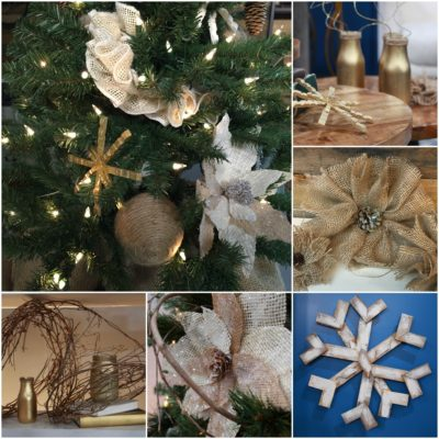 10 Easy Homemade Christmas Decorations