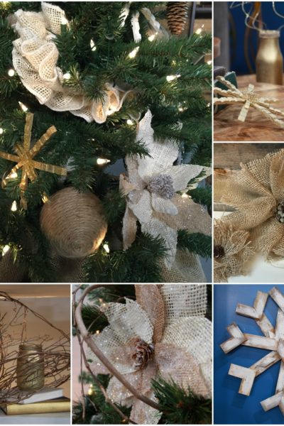 10 Easy Homemade Christmas Decorations
