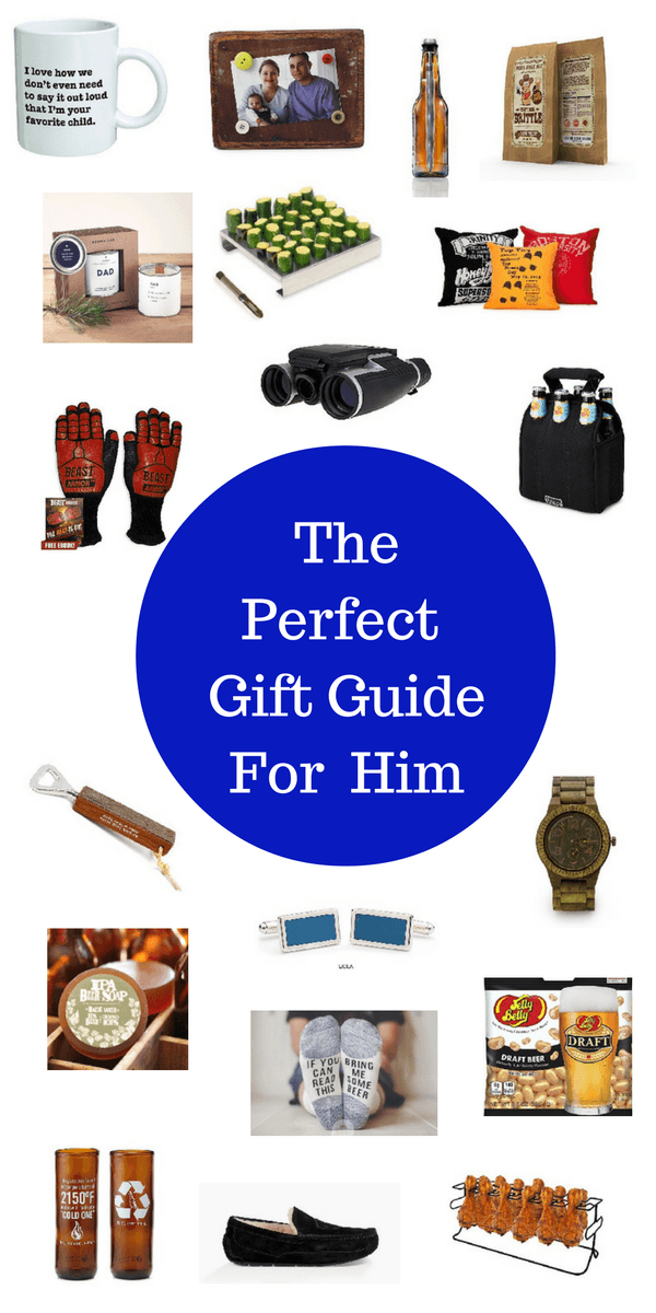Stop going crazy looking for gifts for him! I've searched and founds these fun and some also practical gift ideas for him for Christmas, Birthday, Valentine