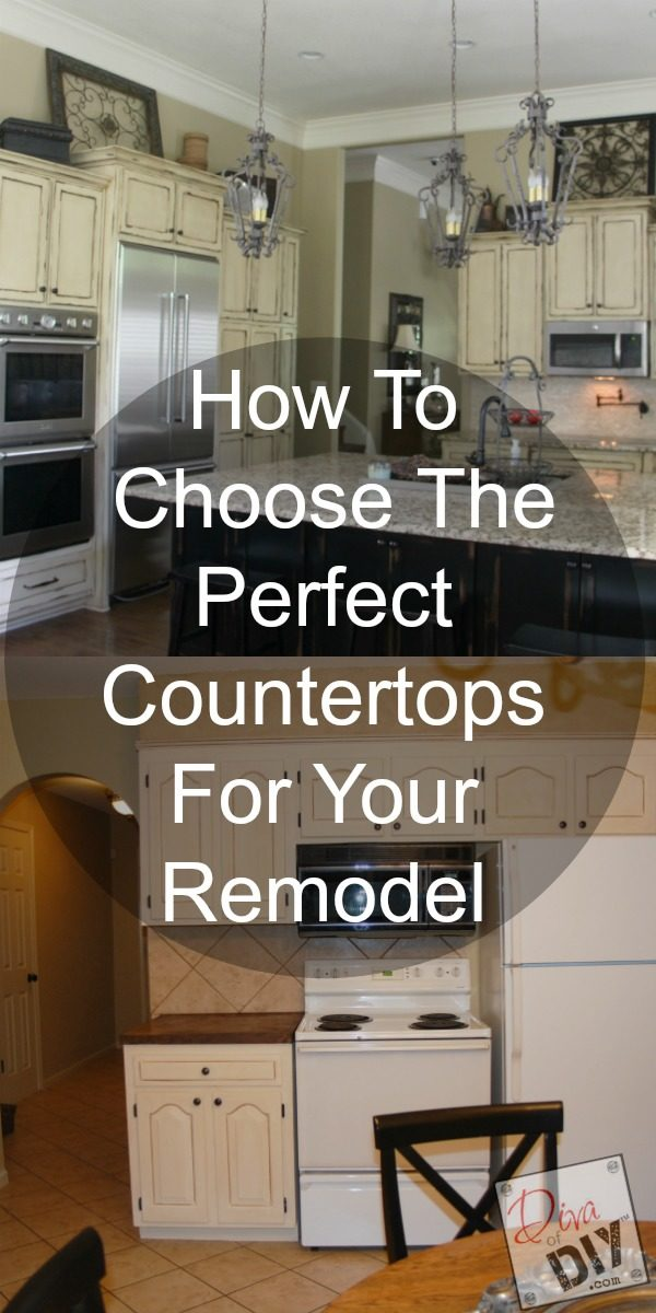 Don't get overwhelmed with kitchen remodeling ideas. Deciding on your kitchen countertops is a great place to start! The perfect remodeling kitchen ideas!