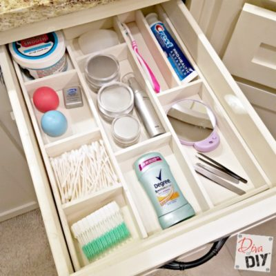 Get Organized with this Wooden DIY Drawer Organizer
