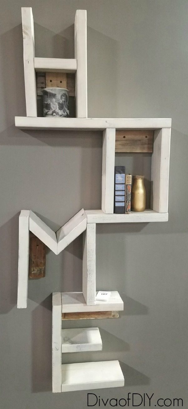 DIY HOME Shelf inspired by: Attention Cat lovers! Let me show you how to make cat scratching diy shelves! This homemade cat scratching post idea for the wall! Awesome Cat DIY project!
