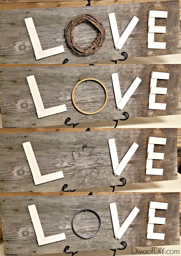 Reclaimed wood projects fit perfect with farmhouse style decorating. These diy wooden letters are the perfect match for a reclaimed wood sign or diy project