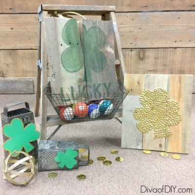 Simple St Patrick's Day Rustic Decor Sign