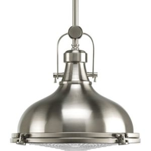 These pendants are both industrial and modern