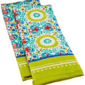 These fun kitchen towels will add personality to any kitchen