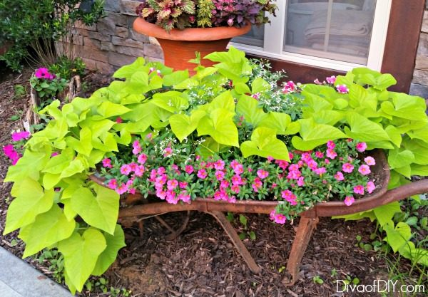 Try These Unique Outdoor Flower Planter Ideas To Add Character To Your  Summer Decor! Great